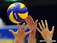 Public funding for Britain's women's indoor volleyball and men's beach volleyball teams has been withdrawn. The cut threatens the teams' 2012 Olympic participation. Nick Hope reports