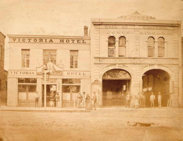 Victoria Hotel [Bendigo] 1861