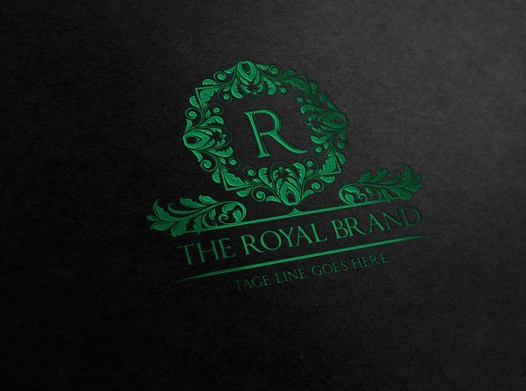 The Royal Brand by Super Pig Shop on @creativemarket