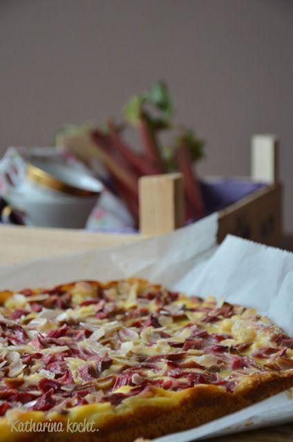 Rhabarberkuchen vom Blech | Katharina kocht