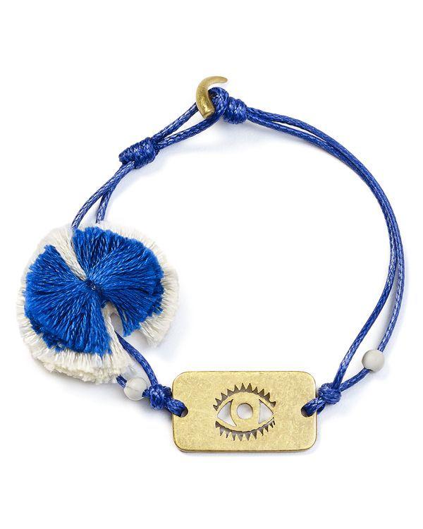 Tory Burch Evil Eye Charm Bracelet