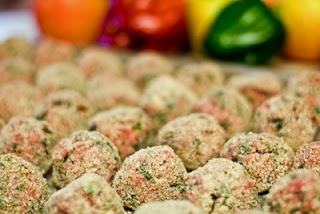 Our favorite meat balls.  Making these for meatball sandwiches.