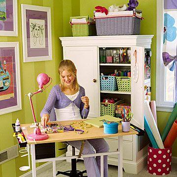 Kids? craft roomCrafts Area, Kids Room, Crafts Room, Crafts Cupboards, Crafts Storage, Crafts Tables, Crafts Corner, Crafty Kids, Craft Rooms