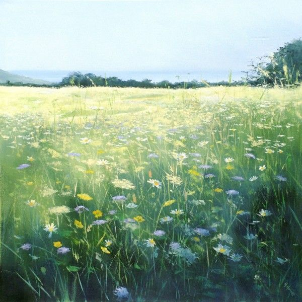 Sea meadow fine art print by heather howe select art for Seagrass landscaping
