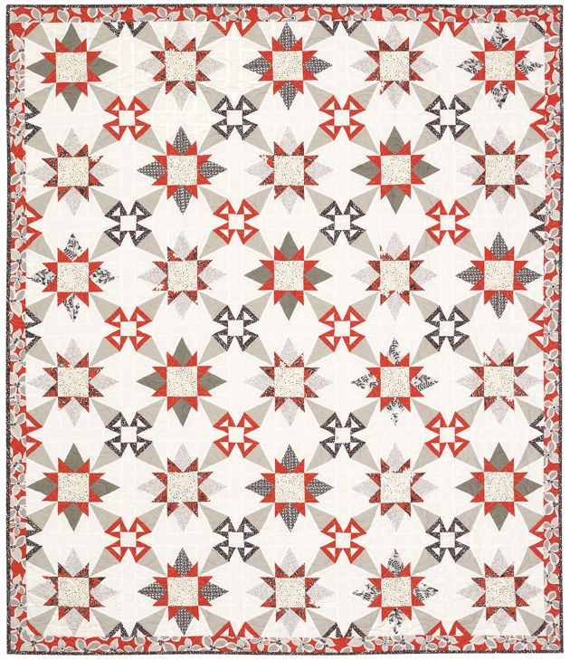 Serafina - California Snowflake - Quilt by Janna Thomas ...