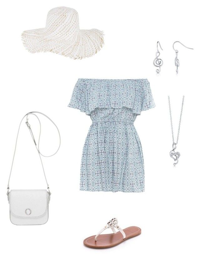 A light romantic summer set by besyata on Polyvore featuring мода, Tory Burch, Oroton, BERRICLE and BCBGMAXAZRIA