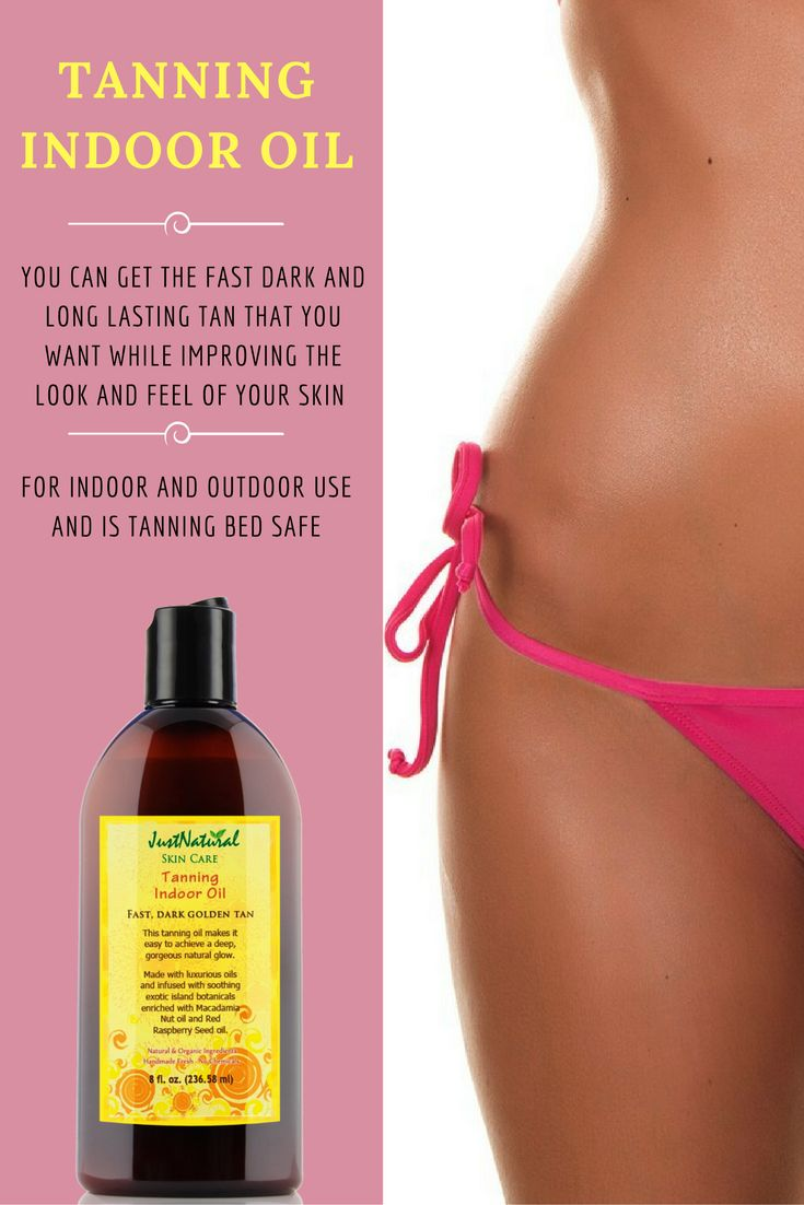 Natural Tanning Oil For Tanning Beds