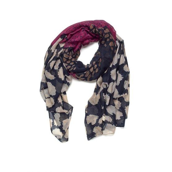 FeelGood Market online:Inkt blauwe paarse sjaal