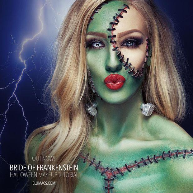 Picture of Bride of Frankenstein - SFX Makeup Tutorial