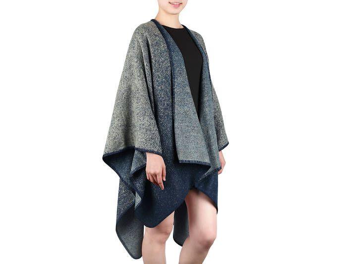 Damen Mode Cardigan Ponch Cape Umhang Strick Jacke Pullover Pulli Lang 21534 ,Farbe: Blau Jetzt bestellen unter: https://mode.ladendirekt.de/damen/bekleidung/pullover/sonstige-pullover/?uid=695e0e67-892f-5ae3-9ea0-71d7fb4da506&utm_source=pinterest&utm_medium=pin&utm_campaign=boards #sonstigepullover #pullover #bekleidung
