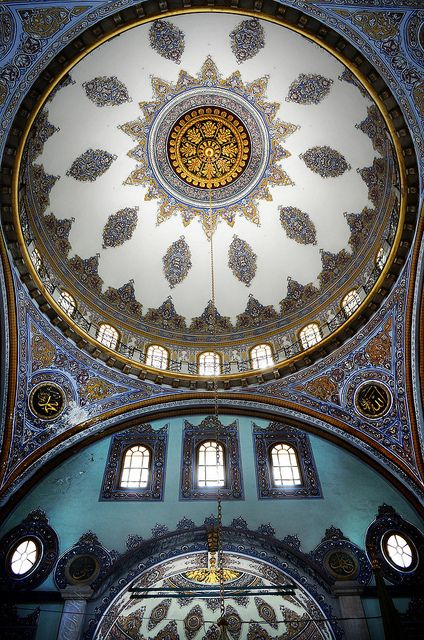 Nusretiye Mosque, Istanbul,Turkey. Tophane Nusretiye Mosque was built by (Armenian Architects, Balyan Family) Kirkor BALYAN, in Baroque-style for Sultan II. Mahmut, between 1823- 1826, in Istanbul. Sarah Allan