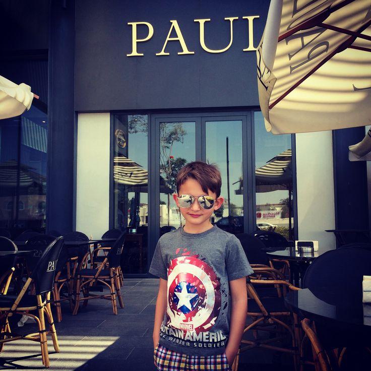 Kaleb #lunch at #Paul #Dubai #fassion
