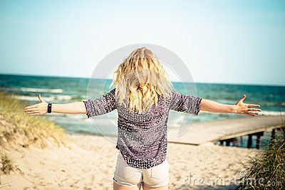 Girl Relaxing At Beach #adult #person #nature #lifestyle #vacation #hands #female #holiday #travel #wellness #meditation #outdoors #portrait #hand #shoes #girls #beautiful #girl #blissful #people #ocean #zen #white #relaxing #caucasian #walk #woman #spirituality #freedom #water #spiritual #happiness #walking #happy #healthy #worship #open #sea #hope #beach #fun #beauty #carefree #free #cheerful #serene #holidays #outside #young #enjoying #meditating #summer