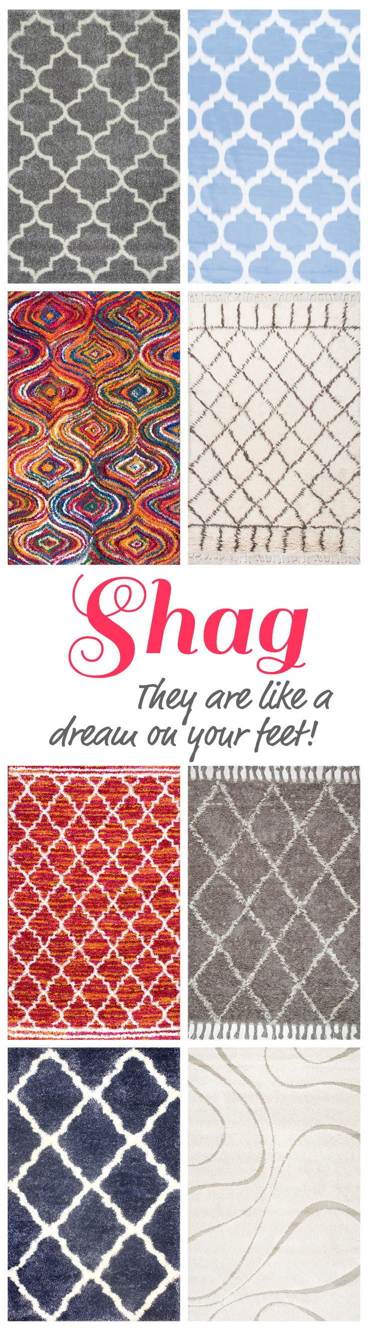 161 best fluffy shag images on pinterest | rugs usa, shag rugs and