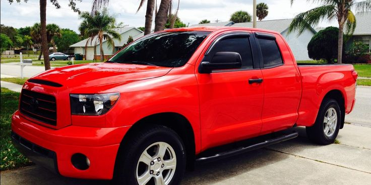 Check out Tansnout 2007 Toyota Tundra-Double-CabSR5-Pickup-4D-6-1/2-ft in Melbourne,FL for ride specification, modification info and photos and follow Tansnout's 2007 Toyota Tundra-Double-Cab SR5-Pickup-4D-6-1/2-ft for updates at CarDomain.