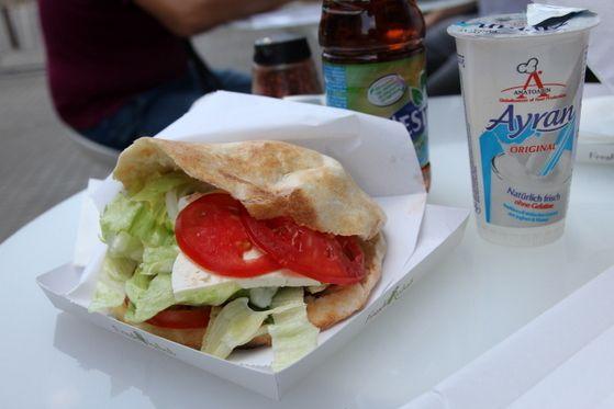 Kebab vegetarian Fresh Kebab