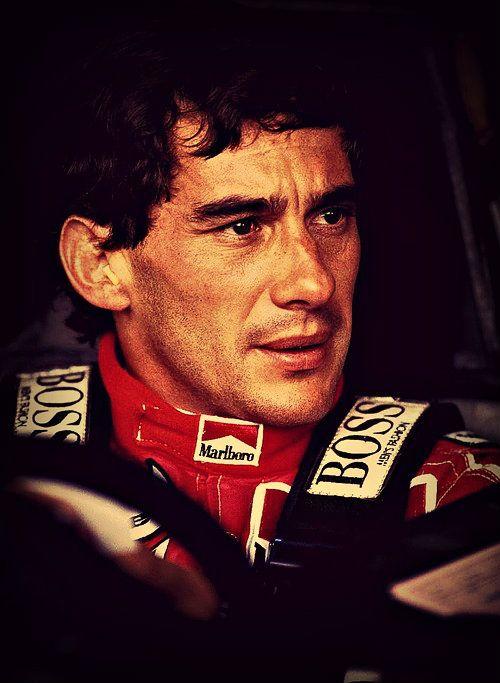 Ayrton Senna - Most passionate race car driver I've ever seen.