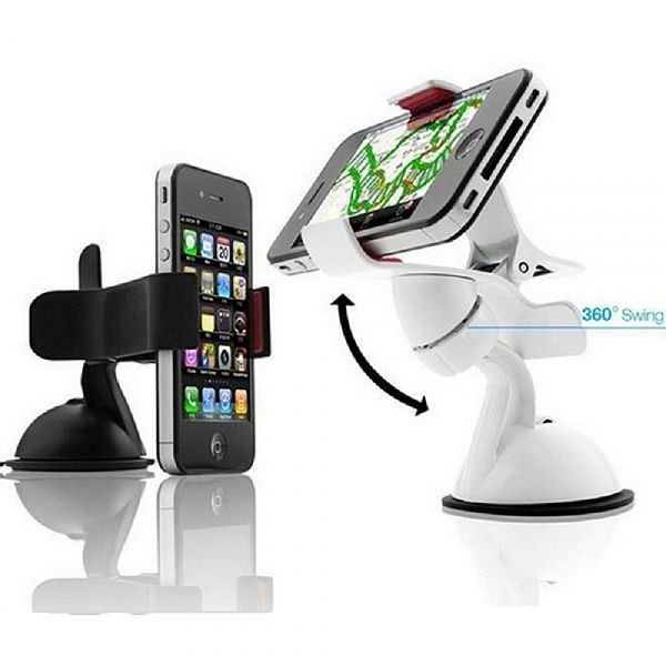 Do you feel it tiered to watch movie or playing games holding the mobile phone by hand directly in the car? Do you feel it inconvenient to get information from the mobile phone when you are driving? This Plastic Universal Adjustable Car Mount Stand Holder is great to keep your mobile phone in safe and stable condition on the road as you make or answer calls with a loud speaker or a compatible Bluetooth device.