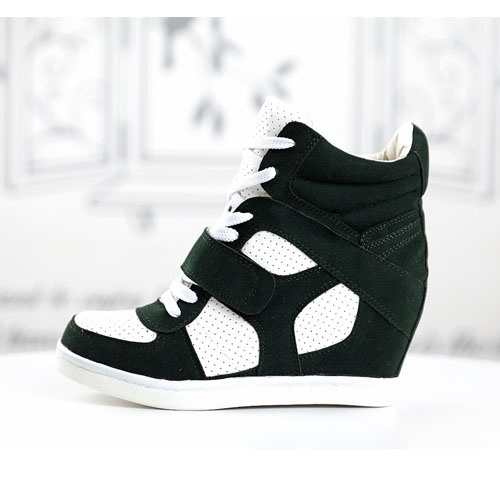 basket femme montante compensees noire blanc high top sneakers fashion mode 2012 2013 ref50.jpg