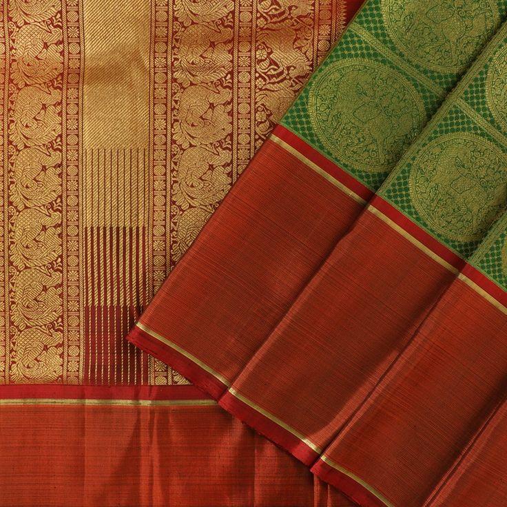 Kanakavalli Kanjivaram Silk Sari 073-01-17170