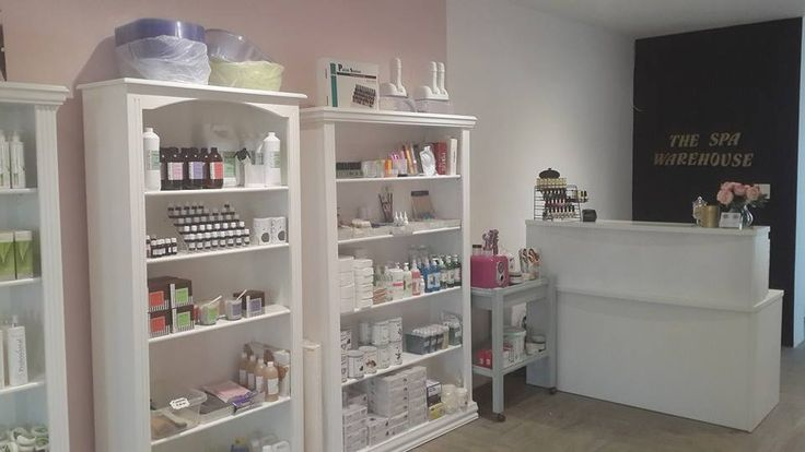 Our spa and salon furniture and product showroom in Paarl