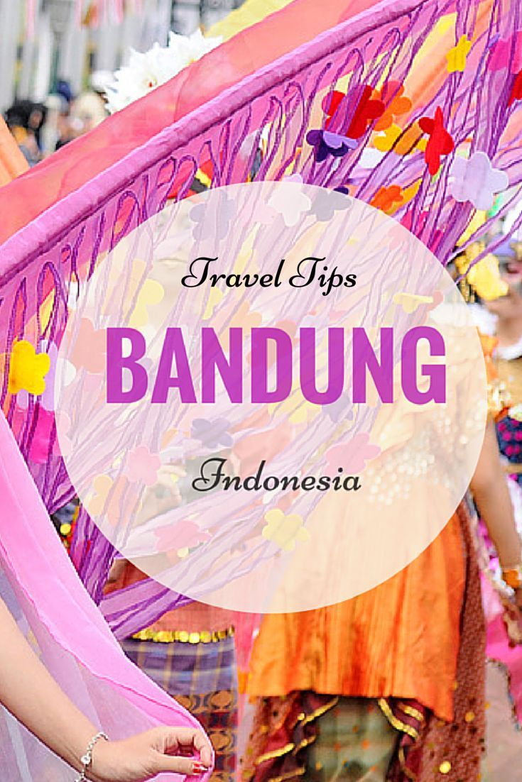 Don't just go to Bali, Bandung Indonesia has SO much to offer as well