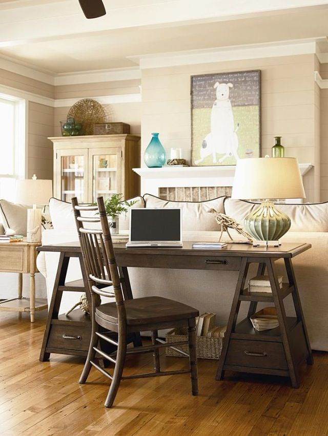 Best 25+ Desk behind couch ideas on Pinterest | Living ...