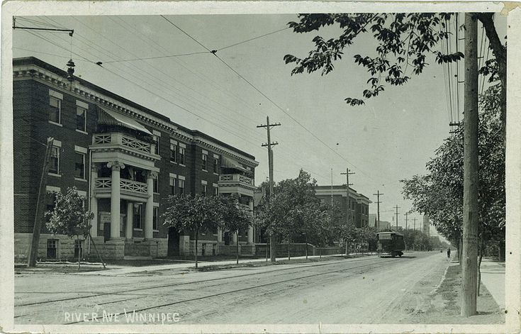 Postcard 1893: Lyall Commercial Photo Co., Limited, River Ave Winnipeg (c1913)