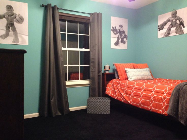Landon S Newly Decorated Room Painted With Sherwin