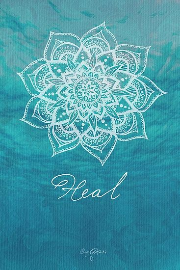 Love the intricate design of this heart chakra
