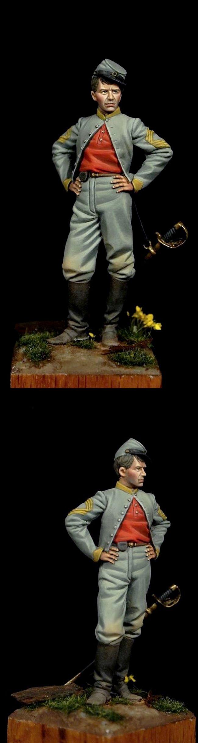 Confederate sergeant