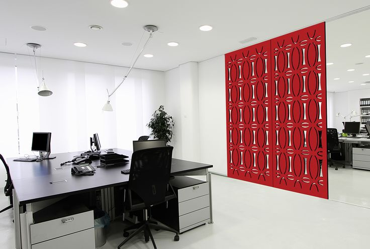 "A bold decorative screen to seperate the dinning and louge rooms. Easycraft ""Halo"" screen"