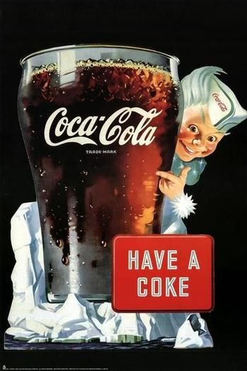 Coca-Cola Have a Coke Guy Giclee Print