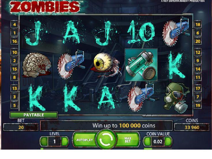 Výherné automaty Zombies - Ak vás zaujímajú zombíci, možno sa aj tešíte na apokalypsu nemŕtvych, potom určite vyskúšajte výherný automat Zombies od spoločnosti NetEnt, a budete veľmi príjemne prekvapení. #HracieAutomaty #VyherneAutomaty #Jackpot #Vyhra #Zombies - http://www.hracie-automaty.co/sloty/vyherne-automaty-zombies