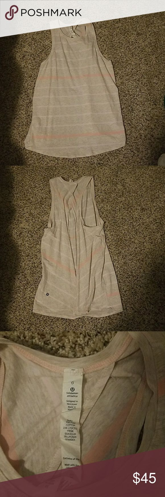 All Tied Up Tank Size 6 Excellent condition  NO TRADES PLEASE lululemon athletica Tops Muscle Tees
