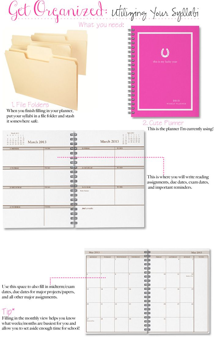 43 best Free Printables College images on Pinterest Free - student agenda template