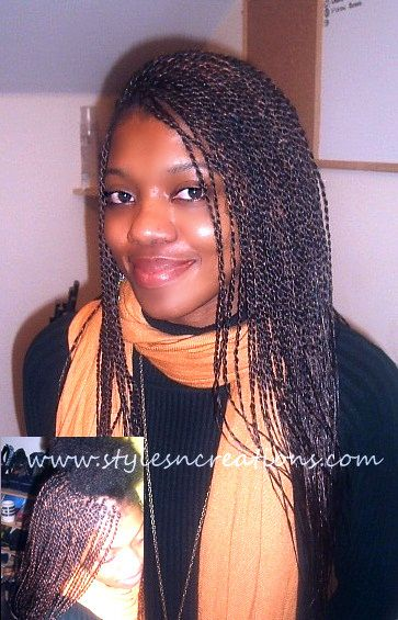21 best hair extensions braids images on pinterest hair small mid back braided senegalese twist pmusecretfo Gallery