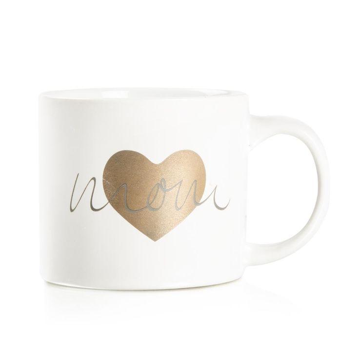 Mom Stoneware Mug