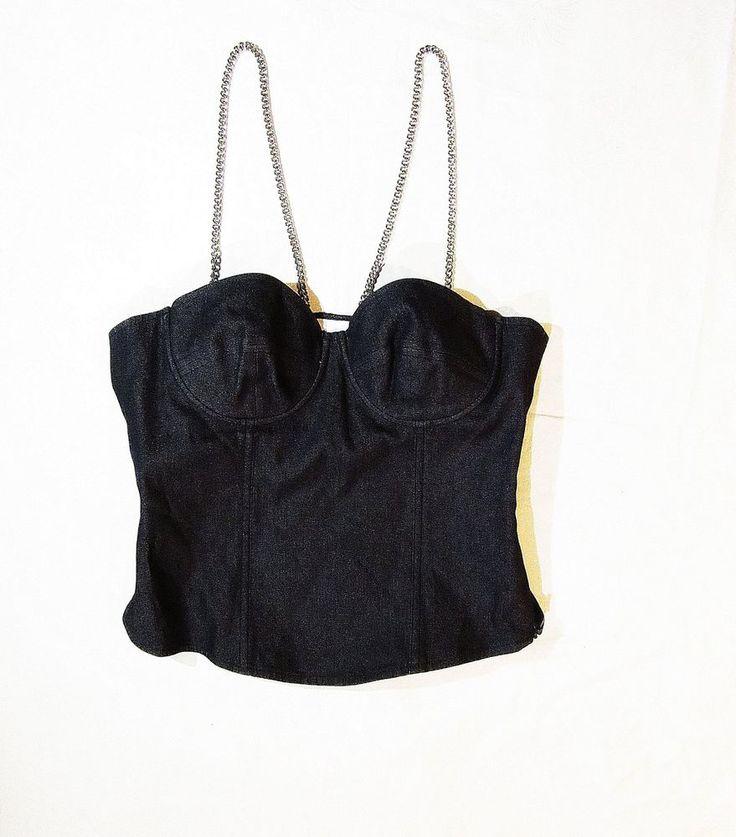 Hugo Boss corset with  chains #HugoBoss #corset