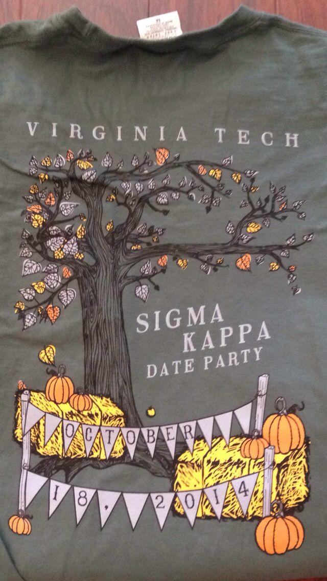 Sigma kappa date party shirt | Shirts for Greeks