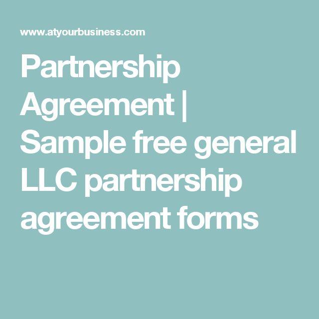Best 25+ General partnership ideas on Pinterest Poland people - business partnership agreement