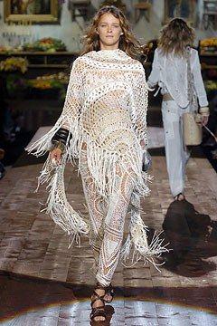 Roberto Cavalli Spring 2005 Ready-to-Wear Fashion Show - Carmen Kass
