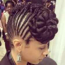 74 best braids images on pinterest natural hair care natural black braided updos hairstyles pmusecretfo Image collections