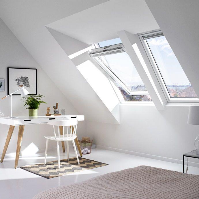 Velux Aufkeilrahmen Fur Steildacher Mehr Raum Licht Luft Ausblick Unterm Dach Haus Deko Dachfenster Dachgiebel