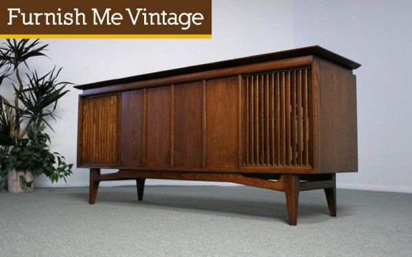 16 best stereo cabinet images on pinterest Mid Century Modern Dry Bar Stanley Furniture Mid Century