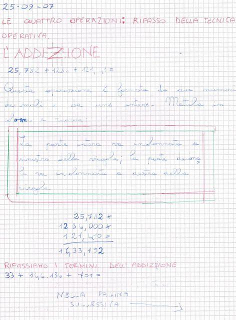 Didattica Scuola Primaria: matematica_classe_quinta