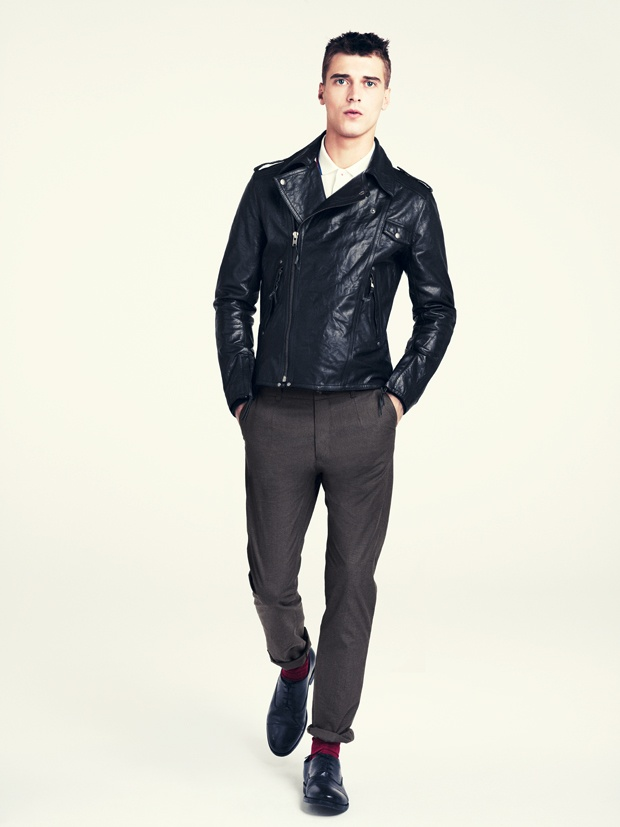 Leather jacket / trousers