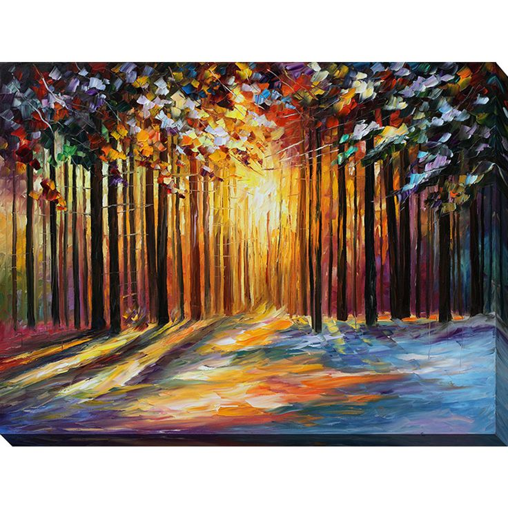 1000 Ideas About Paintings On Canvas On Pinterest Oil