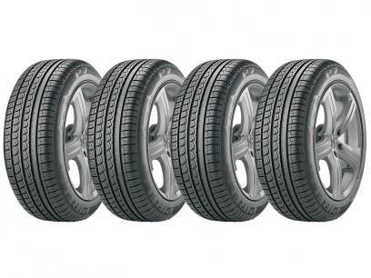 """Kit 4 Pneus Aro 15"""" Pirelli 195 65R15 - P7 com as melhores condições você encontra no Magazine Raimundogarcia. Confira!"""