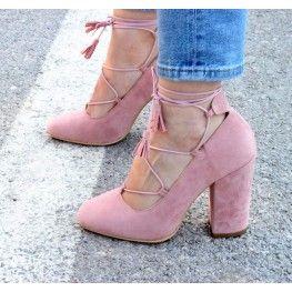 Pall Pudra Topuklu Ayakkabı